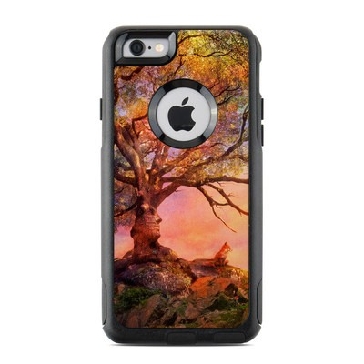 OtterBox Commuter iPhone 6 Case Skin - Fox Sunset