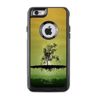 OtterBox Commuter iPhone 6 Case Skin - Flying Tree Amber