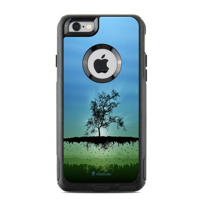 OtterBox Commuter iPhone 6 Case Skin - Flying Tree Blue