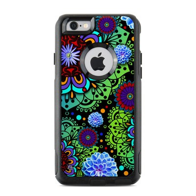 OtterBox Commuter iPhone 6 Case Skin - Funky Floratopia