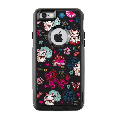 OtterBox Commuter iPhone 6 Case Skin - Geisha Kitty