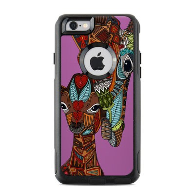 OtterBox Commuter iPhone 6 Case Skin - Giraffe Love