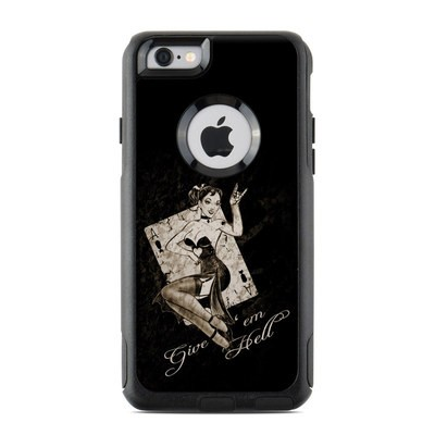OtterBox Commuter iPhone 6 Case Skin - Give Em Hell