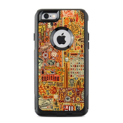 OtterBox Commuter iPhone 6 Case Skin - The Golding Time