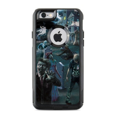 OtterBox Commuter iPhone 6 Case Skin - Graveyard