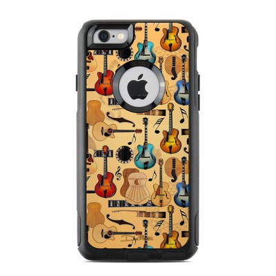 OtterBox Commuter iPhone 6 Case Skin - Guitar Collage