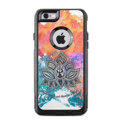 OtterBox Commuter iPhone 6 Case Skin - Happy Lotus