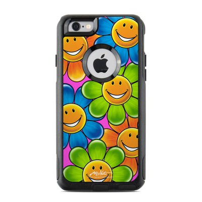 OtterBox Commuter iPhone 6 Case Skin - Happy Daisies