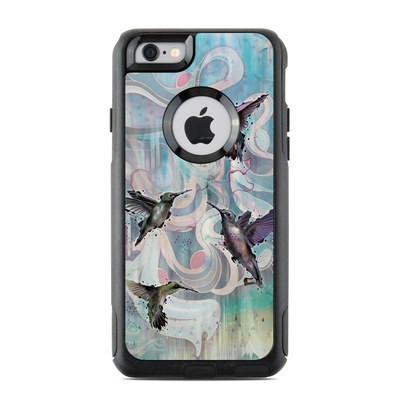 OtterBox Commuter iPhone 6 Case Skin - Hummingbirds