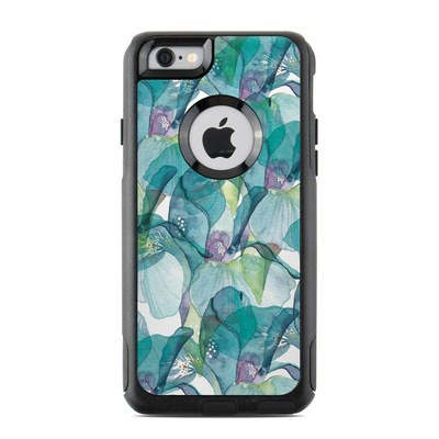 OtterBox Commuter iPhone 6 Case Skin - Iris Petals