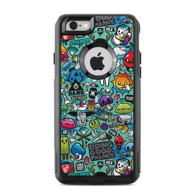 OtterBox Commuter iPhone 6 Case Skin - Jewel Thief