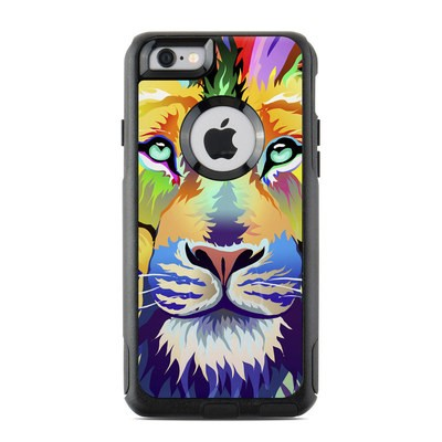 OtterBox Commuter iPhone 6 Case Skin - King of Technicolor
