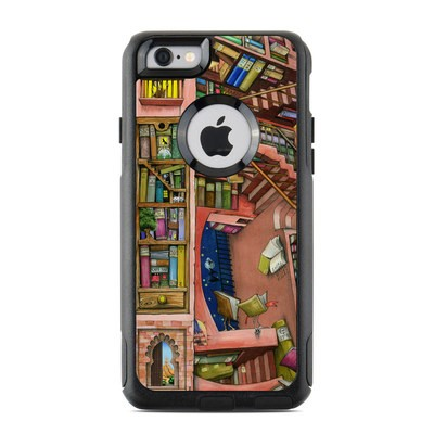 OtterBox Commuter iPhone 6 Case Skin - Library Magic