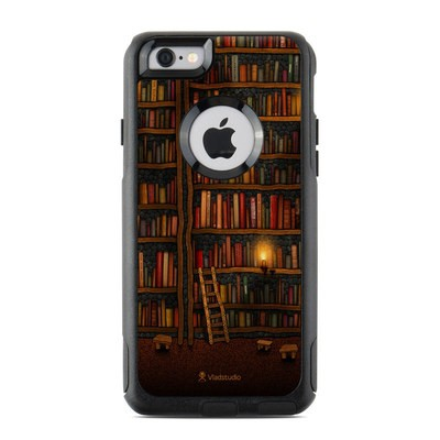 OtterBox Commuter iPhone 6 Case Skin - Library
