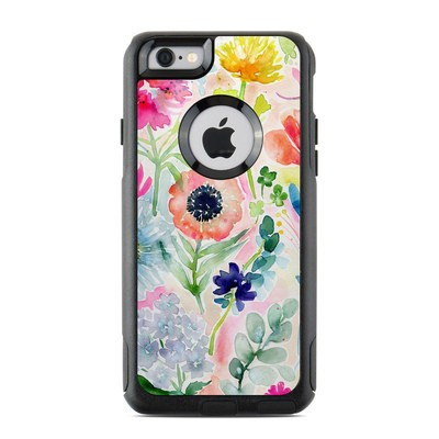 OtterBox Commuter iPhone 6 Case Skin - Loose Flowers