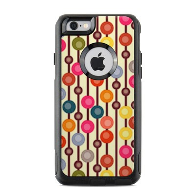 OtterBox Commuter iPhone 6 Case Skin - Mocha Chocca