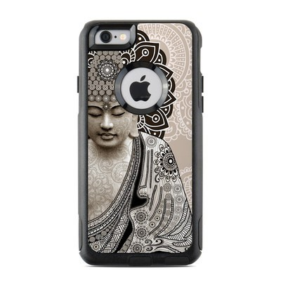 OtterBox Commuter iPhone 6 Case Skin - Meditation Mehndi