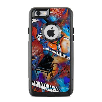 OtterBox Commuter iPhone 6 Case Skin - Music Madness