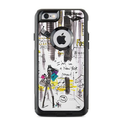 OtterBox Commuter iPhone 6 Case Skin - My New York Mood