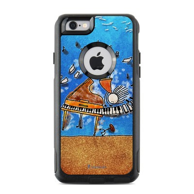 OtterBox Commuter iPhone 6 Case Skin - Music is Power