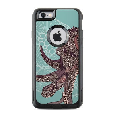 OtterBox Commuter iPhone 6 Case Skin - Octopus Bloom