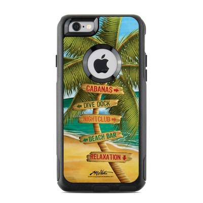 OtterBox Commuter iPhone 6 Case Skin - Palm Signs
