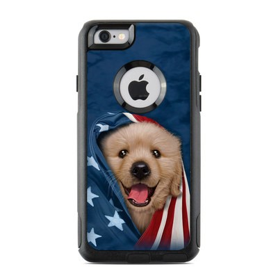 OtterBox Commuter iPhone 6 Case Skin - Patriotic Retriever