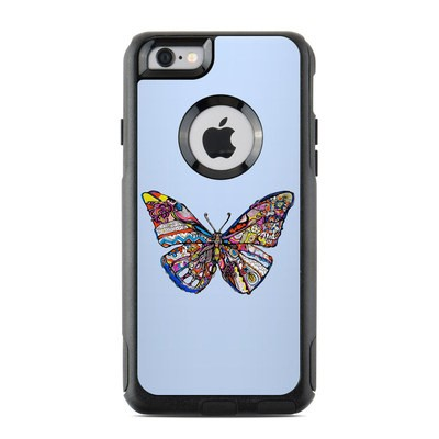 OtterBox Commuter iPhone 6 Case Skin - Pieced Butterfly