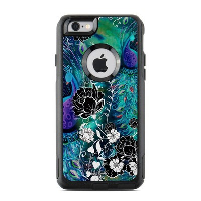 OtterBox Commuter iPhone 6 Case Skin - Peacock Garden