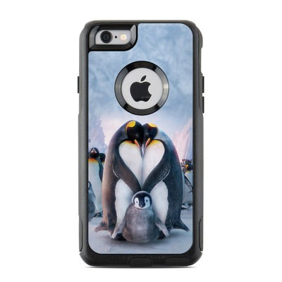 OtterBox Commuter iPhone 6 Case Skin - Penguin Heart