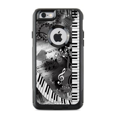 OtterBox Commuter iPhone 6 Case Skin - Piano Pizazz