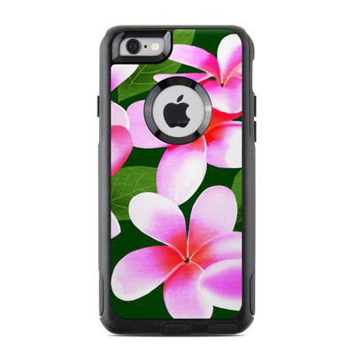 OtterBox Commuter iPhone 6 Case Skin - Pink Plumerias