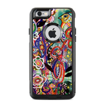 OtterBox Commuter iPhone 6 Case Skin - Purple Birds