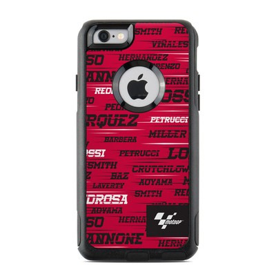 OtterBox Commuter iPhone 6 Case Skin - Racers