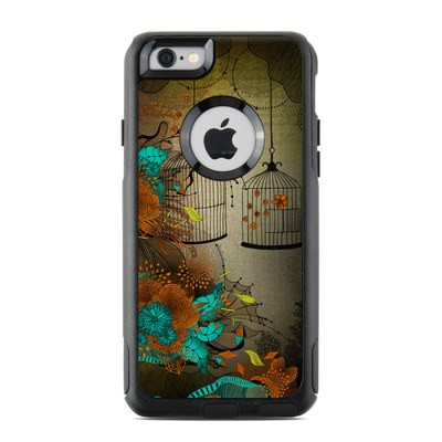 OtterBox Commuter iPhone 6 Case Skin - Rusty Lace