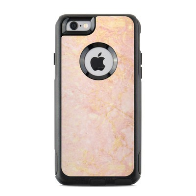 OtterBox Commuter iPhone 6 Case Skin - Rose Gold Marble