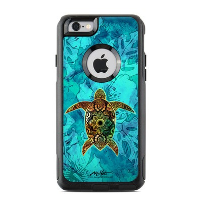 OtterBox Commuter iPhone 6 Case Skin - Sacred Honu