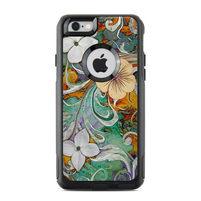OtterBox Commuter iPhone 6 Case Skin - Sangria Flora