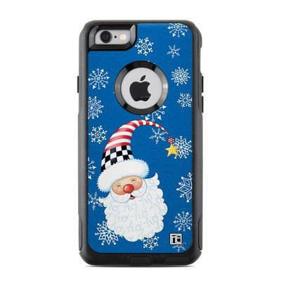 OtterBox Commuter iPhone 6 Case Skin - Santa Snowflake