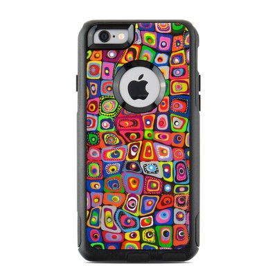 OtterBox Commuter iPhone 6 Case Skin - Square Dancing