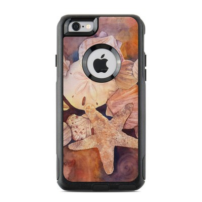 OtterBox Commuter iPhone 6 Case Skin - Sea Shells