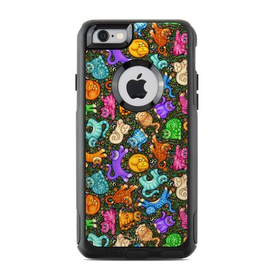 OtterBox Commuter iPhone 6 Case Skin - Sew Catty