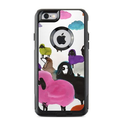 OtterBox Commuter iPhone 6 Case Skin - Sheeps