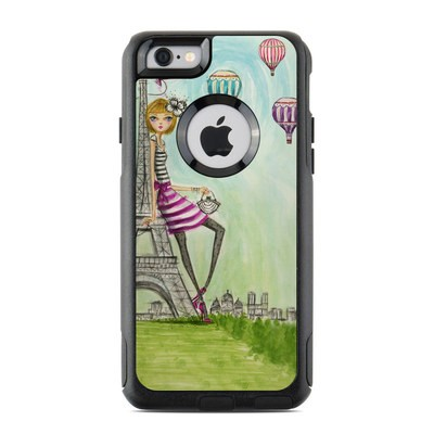 OtterBox Commuter iPhone 6 Case Skin - The Sights Paris