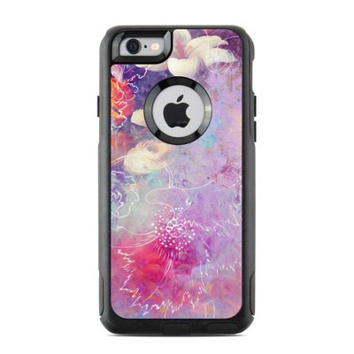 OtterBox Commuter iPhone 6 Case Skin - Sketch Flowers Lily
