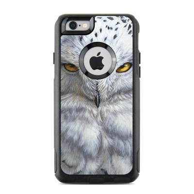 OtterBox Commuter iPhone 6 Case Skin - Snowy Owl