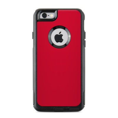 OtterBox Commuter iPhone 6 Case Skin - Solid State Red