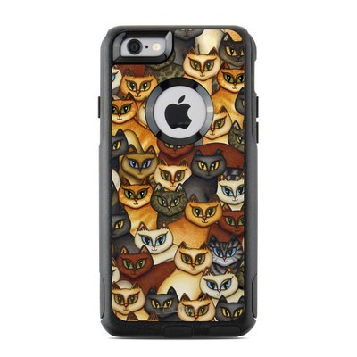 OtterBox Commuter iPhone 6 Case Skin - Stacked Cats