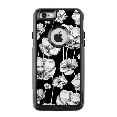 OtterBox Commuter iPhone 6 Case Skin - Striped Blooms