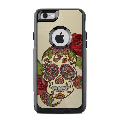 OtterBox Commuter iPhone 6 Case Skin - Sugar Skull